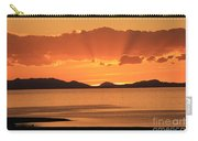 Sunset Over The Great Salt Lake Carry-all Pouch