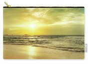 Sunset Over The Sea. Panorama Carry-all Pouch
