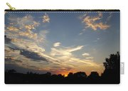 Sunset Sky Over Ohio Carry-all Pouch