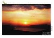 Sunsetting Over Portree, Isle Of Skye, Scotland No.2. Carry-all Pouch