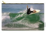 Surfer Carry-all Pouch by Carlos Caetano