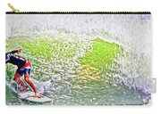 Surfer Green Carry-all Pouch