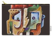 Surrealism Head Carry-all Pouch