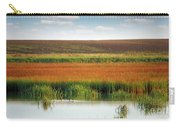 Swamp With Birds Landscape Autumn Season Carry-all Pouch