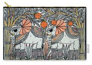 Swan Elephant Carry-all Pouch
