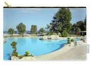 Swimming Pool Summer Vacation Scene Carry-all Pouch