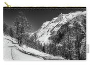 Swiss Winter Mountains Carry-all Pouch