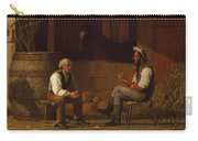 Talking It Over , Enoch Wood Perry  Carry-all Pouch