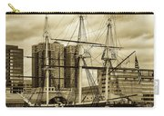 Tall Ship In Baltimore Harbor Carry-all Pouch