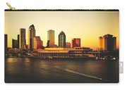 Tampa At Sunset Carry-all Pouch