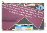Tarceva Nsclc, Side Effects, Medicine, Cost, Medication, Drug Carry-all Pouch