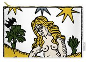 Tarot Card The Stars Carry-all Pouch