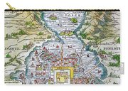 Tenochtitlan (mexico City) Carry-all Pouch