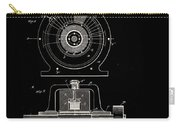 Tesla Generator Patent 1891 Carry-all Pouch