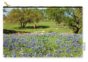 Texas Wildflowers Carry-all Pouch