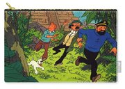 The Adventures Of Tintin Carry-all Pouch