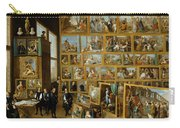 The Art Collection Of Archduke Leopold Wilhelm In Brussels Carry-all Pouch