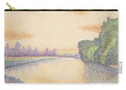 The Banks Of The Marne At Dawn Carry-all Pouch