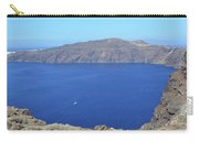 The Beautiful Caldera In Santorini, Greece With The Aegean Sea Carry-all Pouch