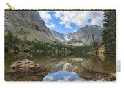 The Beautiful The Louch Lake With Reflection And Clear Water Carry-all Pouch