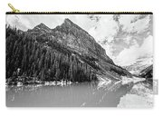 The Beauty Of Lake Louise Bw Carry-all Pouch