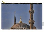 The Blue Mosque In Istanbul Turkey Carry-all Pouch by David Smith