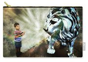 The Boy And The Lion 3 Carry-all Pouch