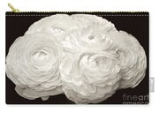 White Ranunculus Bouquet Carry-all Pouch