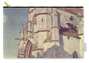 The Church At Moret Carry-all Pouch by Alfred Sisley