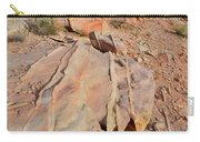The Color Of Valley Of Fire Carry-all Pouch