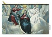 The Coronation Of The Virgin Carry-all Pouch