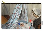 The Cradle - Camille With The Artist's Son Jean Carry-all Pouch