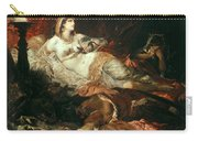 The Death Of Cleopatra Carry-all Pouch
