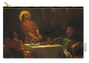 The Disciples At Emmaus Carry-all Pouch
