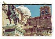 The Equestrian Statue Of Bartolomeo Colleoni In Venice Carry-all Pouch