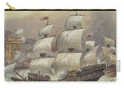 The Fleet Of Jean Ango Blocks The Tagus Carry-all Pouch