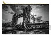 The Girl And The Dolphin - London Carry-all Pouch