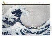 The Great Wave Of Kanagawa Carry-all Pouch