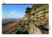 The Gritstone Rock Formations On Stanage Edge Carry-all Pouch
