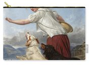 The Highland Lassie Carry-all Pouch