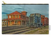 The Historic Santa Fe Railroad Station Carry-all Pouch