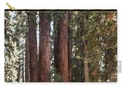 The House Group Giant Sequoia Trees Sequoia National Park Carry-all Pouch