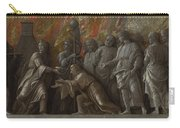 The Introduction Of The Cult Of Cybele At Rome Carry-all Pouch