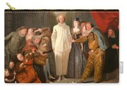 The Italian Comedians Carry-all Pouch