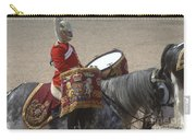 The Kettledrums Of Household Cavalry Carry-all Pouch by Andrew Chittock
