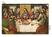 The Last Supper Carry-all Pouch by Master of Portillo