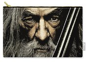 The Leader Of Mankind  - Gandalf / Ian Mckellen Carry-all Pouch