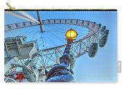 The London Eye And Street Lamp Carry-all Pouch