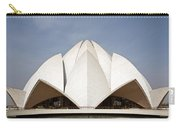 The Lotus Temple In New Delhi Carry-all Pouch