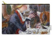 The Luncheon Of The Boating Party Carry-all Pouch by Pierre Auguste Renoir